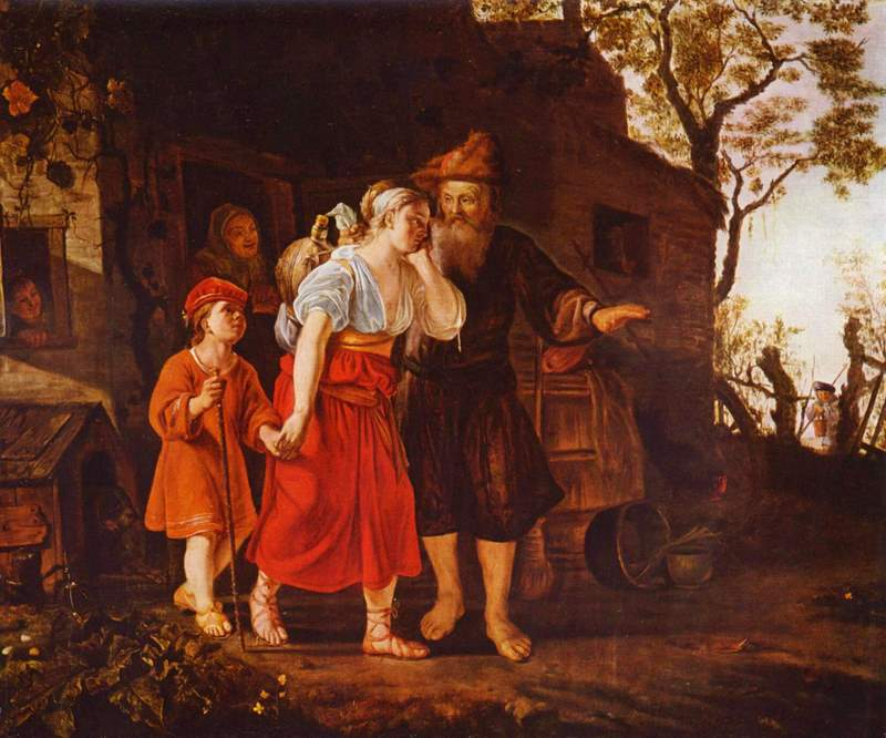 Jan Victors, Banishment of Hagar